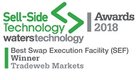 Sell-Side Technology Awards Winner 2019 Best Swap Execution Facility